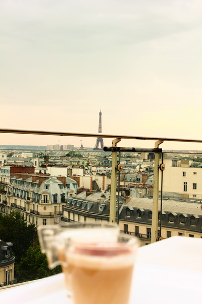 Le Deli Cieux Paris Rooftop Terrace Restaurant Printemp Paris View
