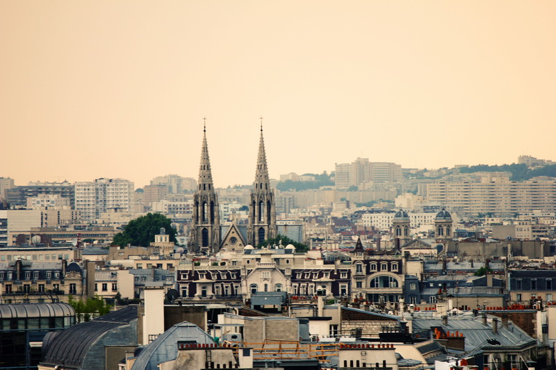 Paris View Le Deli Cieux Paris Rooftop Printemp