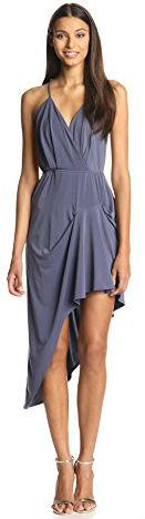 BCBGeneration Women's Pleat Skirt Dress Vapor Medium
