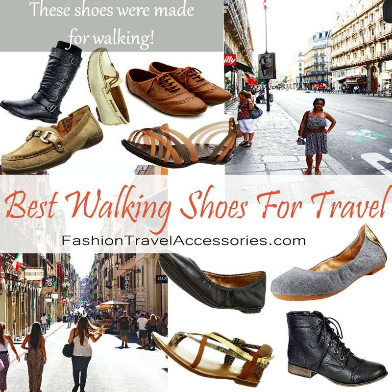 Top 5 Best Walking Shoes For Travel - Travel Shoes For Women