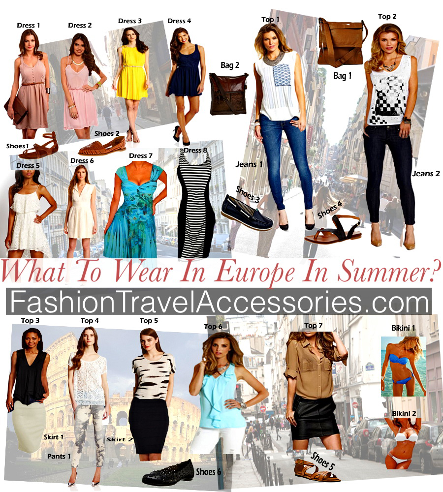831871bfcbb What To Wear In Europe In Summer – Travel Packing Tips – Fashionable Outfits