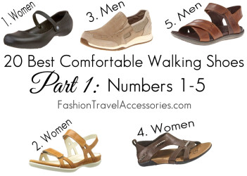 20 Best Comfortable Walking Shoes Part 1 Numbers 1-5