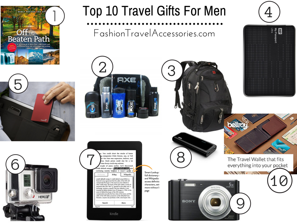 Top 10 Travel Gifts For Men Reviews Fashion Travel