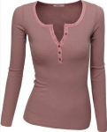 Pink Long Sleeve Top What To Wear In Europe Autumn
