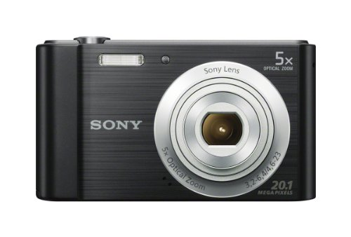 Travel Gifts For Men Gift Ideas For Men Sony W800/B 20 MP Digital Camera Black