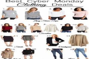 Best Cyber Monday Clothing Deals Featured Image Post