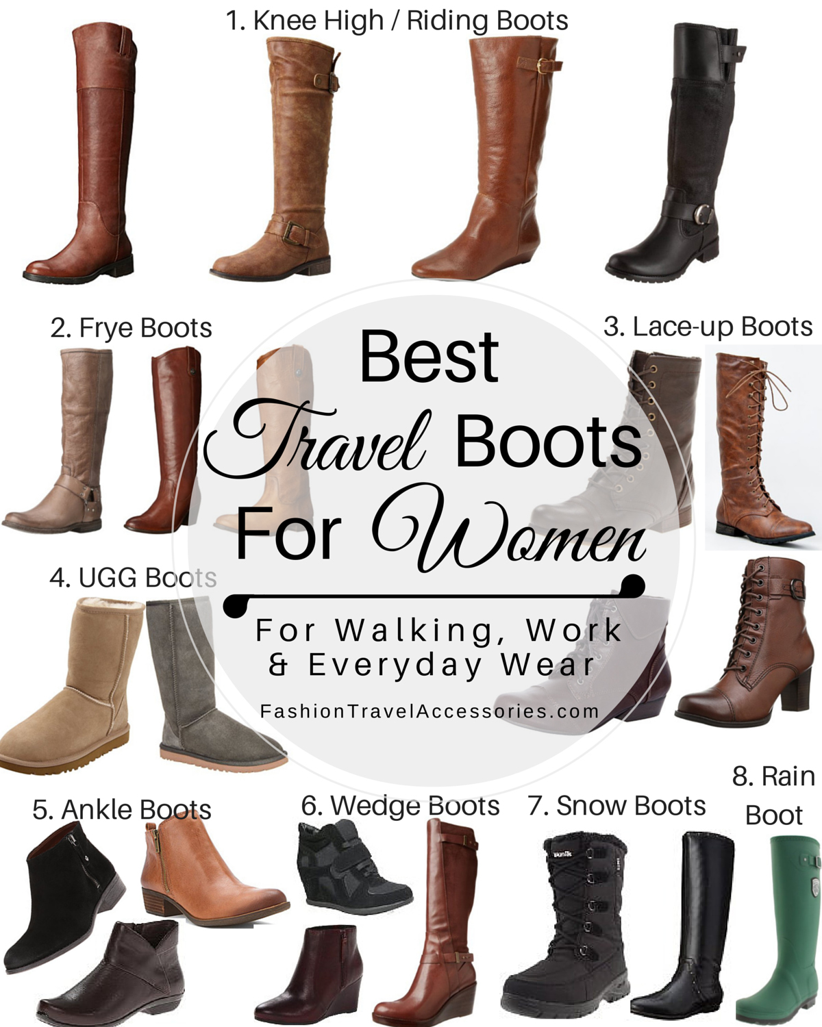 Best Travel Boots for Fall, Winter, Spring