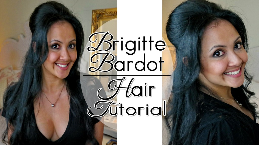 Brigitte Bardot Hair Tutorial