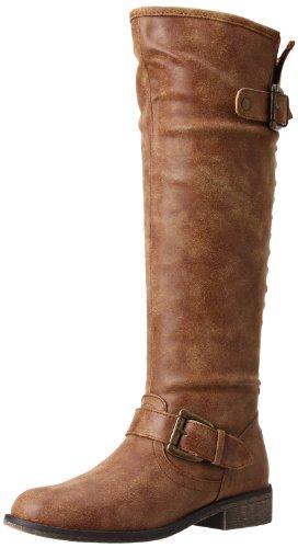 Madden Girl Women's Cactuss Boot,Cognac Paris