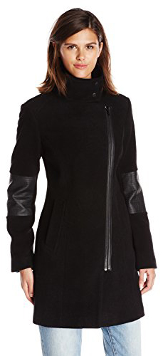 Types Of Coats Marc New York by Andrew Marc Women's Ada Moto Wool Coat