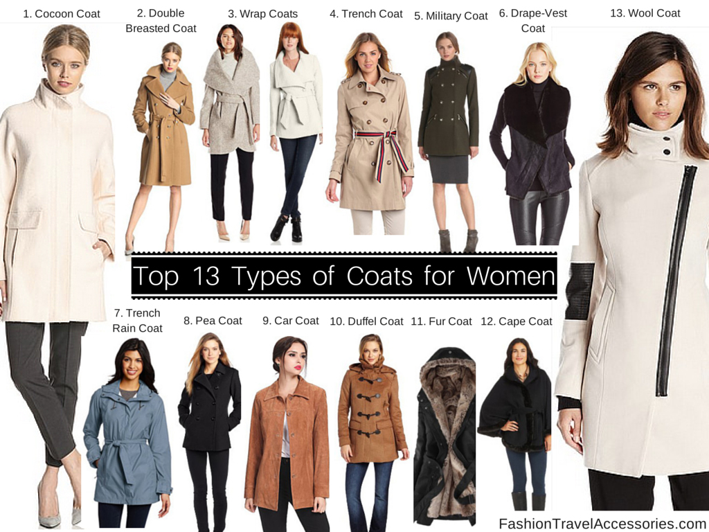 Top 13 Types Of Coats For Women To Wear Winter Fall Spring