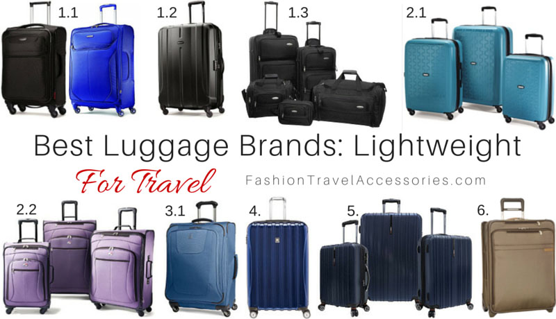 eb8b4d04fcfa Best Luggage Brands For Travel: Lightweight & Expandable