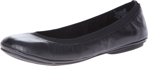 Bandolino Women's Edition Leather Ballet Flat,Black
