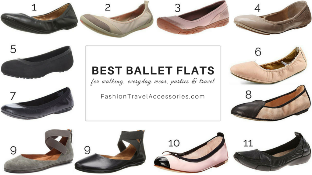 Best Ballet Flats For Walking, Everyday Wear & Travel