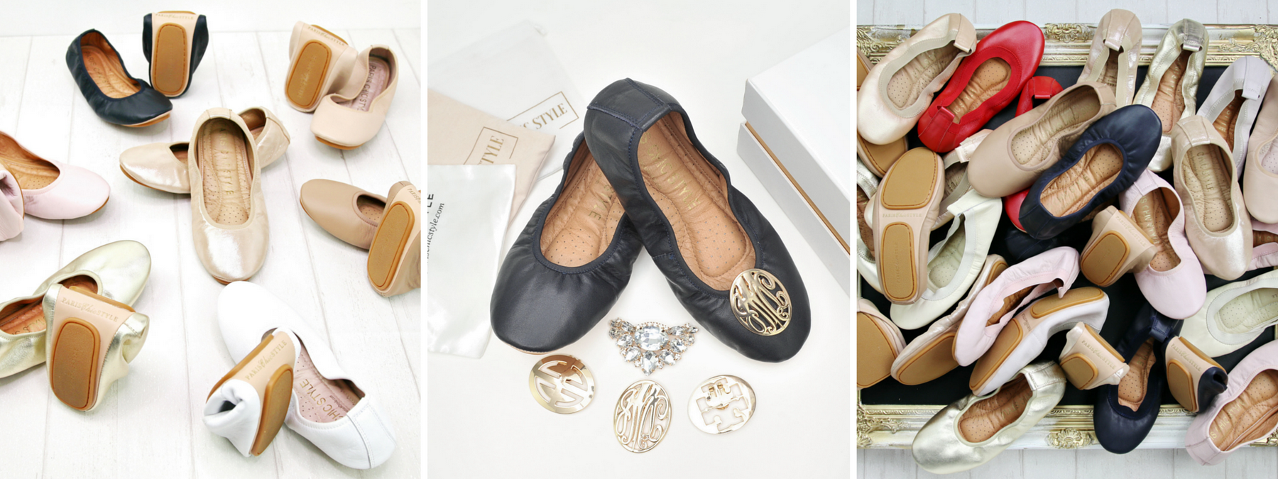 Paris Chic Style Foldable Ballet Flats Kickstarter Email_resize