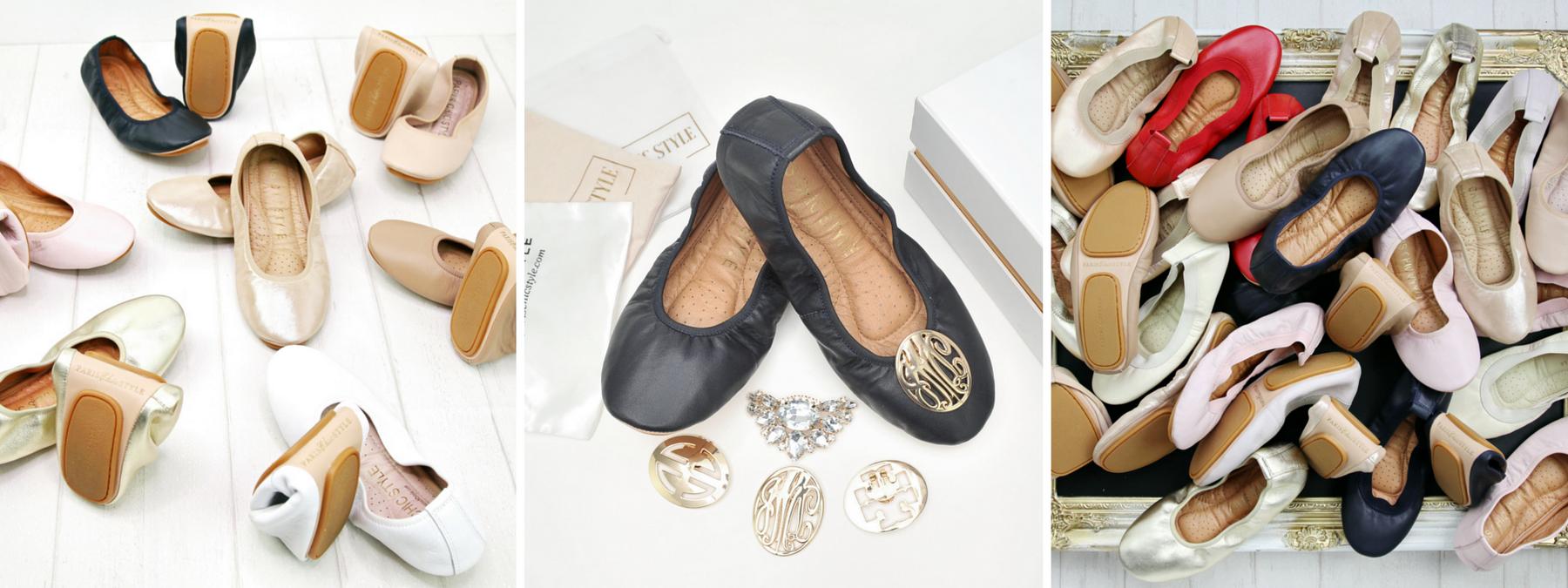Paris Chic Style Foldable Ballet Flats Kickstarter Email_resize