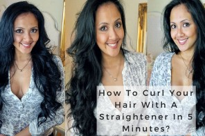 How To Curl Your Hair With A Straightener: GHD Straightener