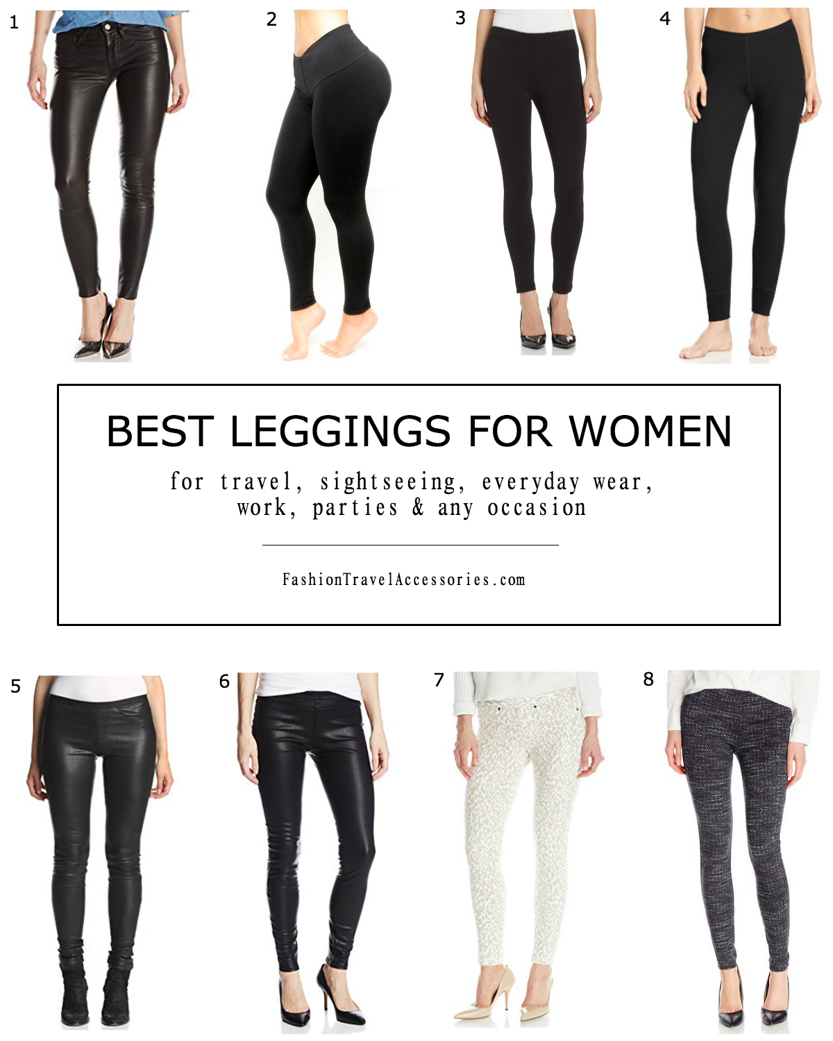Best Leggings For Women For Travel, Everyday Wear & Any Occasion