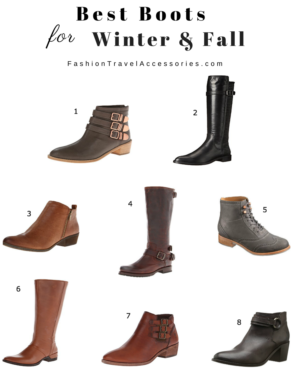 Best Boots For Winter & Fall For Everyday Wear: Comfortable & Stylish