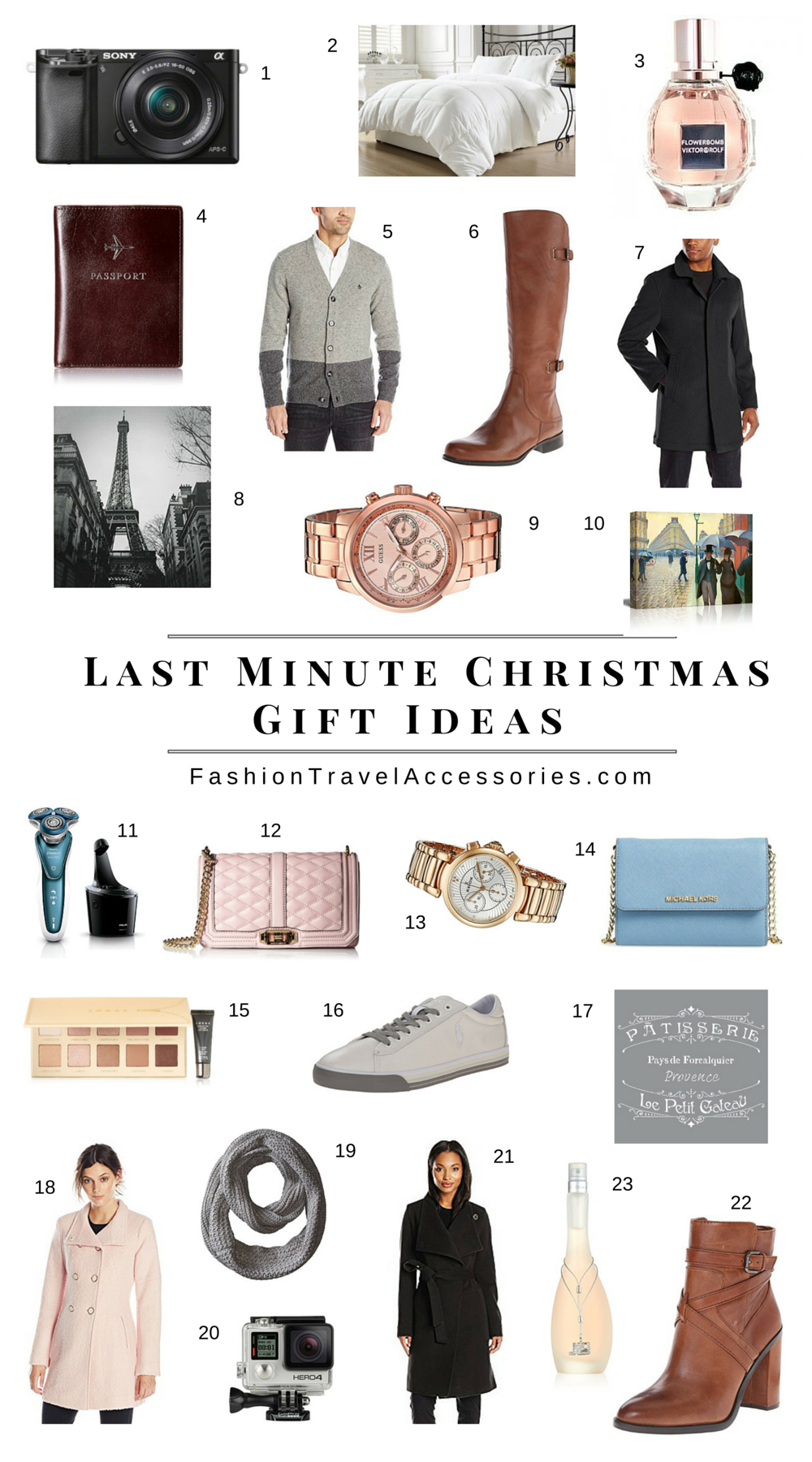 1 Last Minute Christmas Gift Ideas Fashion Travel Accessories