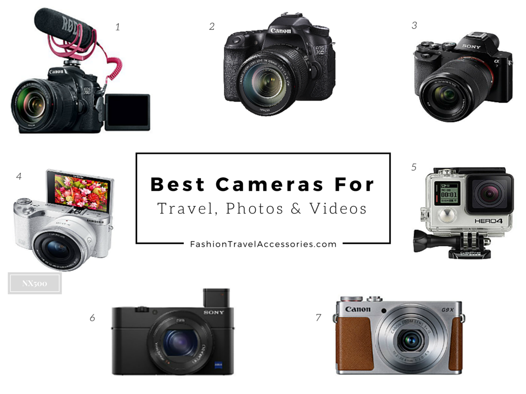 2 Best Cameras For Travel Photography Videos