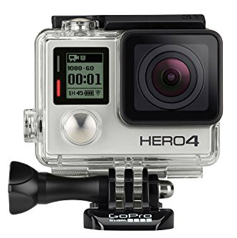 20.GoPro HERO4 SILVER Last Minute Christmas Gift Ideas