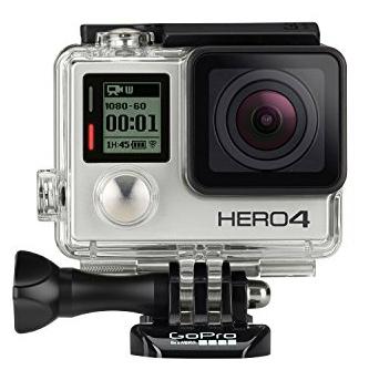 20.GoPro HERO4 SILVER Last Minute Christmas Gift Ideas