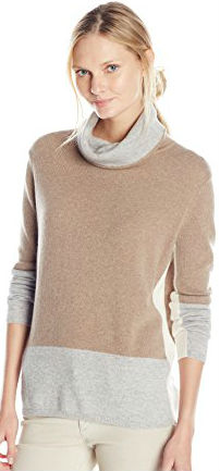 1 Fall Tops Paris Magaschoni Women's Color-Block Sweater