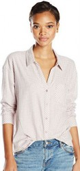 10 Spring Paris Top Joie Women's Fran Gingham Brushed Cotton Shirt