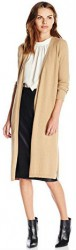 13 Spring Cardigan Sweater Paris Vince Camuto Women's Long-Sleeve Ribbed Maxi Cardigan Sweater