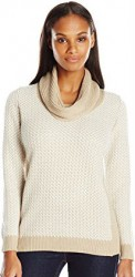 3 Spring Cardigan Sweater Paris Calvin Klein Women's Basket-Weave Sweater