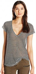 3 Summer Tops For Paris PAIGE Women's Hadley Stripe Tee