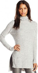 3 Sweaters For Paris Noisy May Women's Milo Long-Sleeve Turtleneck Sweater