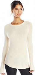 6 Sweaters For Paris MINKPINK Women's Blue Belle Knit Sweater