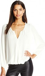 7 Spring Paris Top Joie Women's Situla Long-Sleeve Blouse