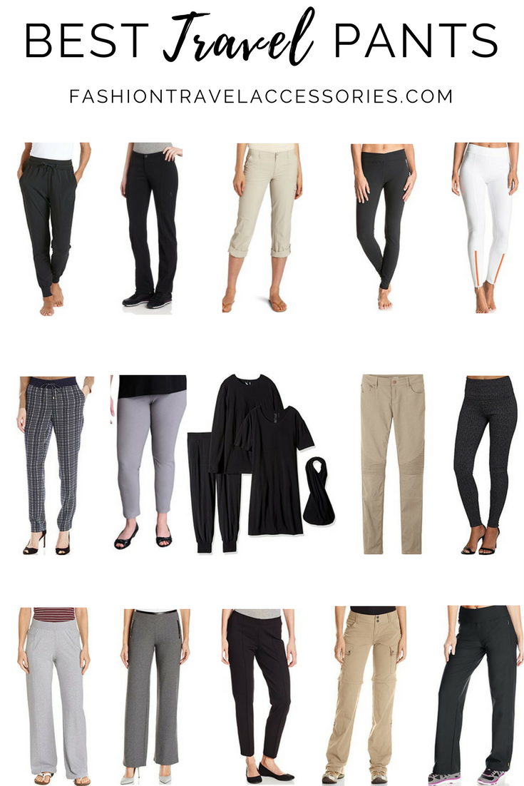 c167806e945 Best Travel Pants For Women - Comfortable