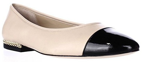 6 Nude Ballet Flats Michael Kors Women's Sabrina Ballet Flat Fashion Travel Accessories