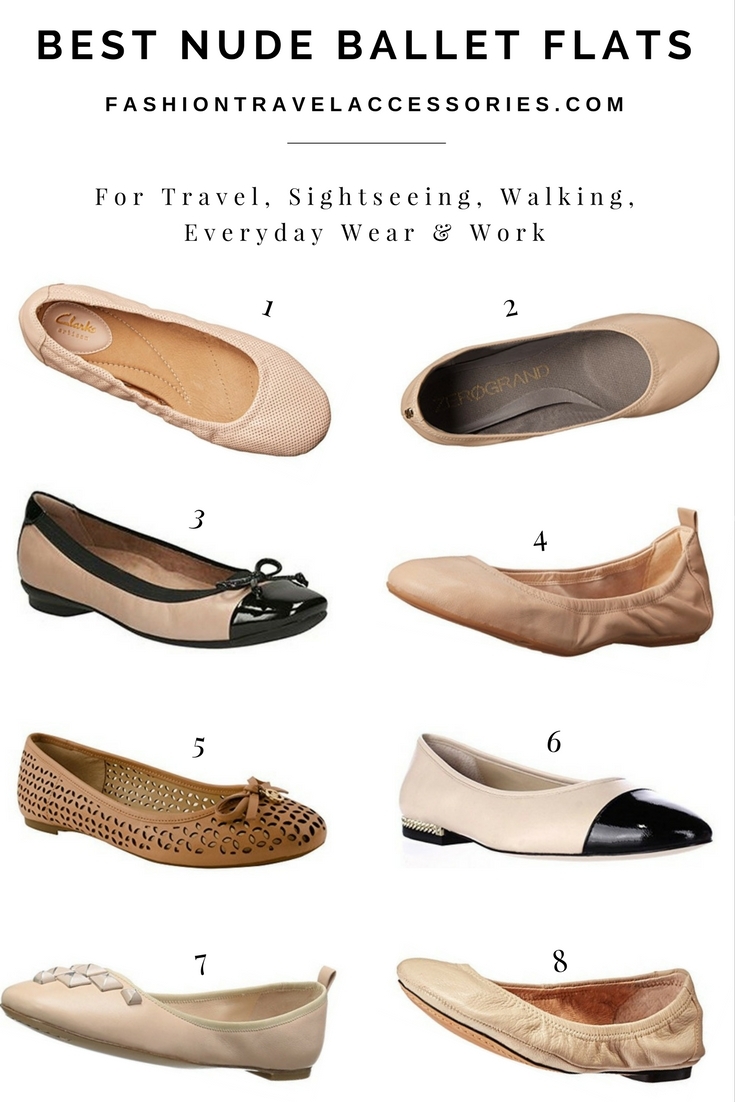 Best Nude Ballet Flats For Travel Sightseeing Walking Work All 1