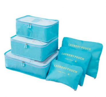 Best travel packing cubes luggage organizer lightweight durable fashion travel accessories watermelon blue 3