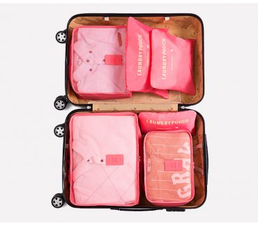 Best travel packing cubes luggage organizer lightweight durable fashion travel accessories watermelon red 2.1